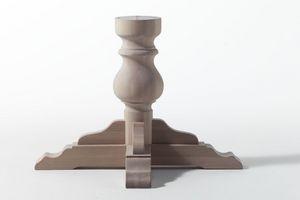 BASE, Base de colonne pour la table en bois