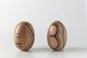 COLOURED INSERTS, Marqueterie de bois d'origine