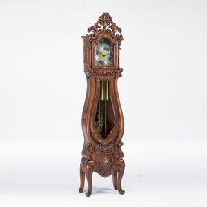 Art. 511/3, Horloge grand-père dans le style baroque, sculpté à la main