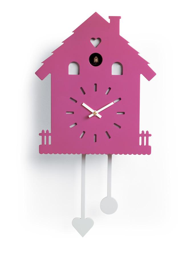 Minimal Horloge Murale Coucou Avec Mecanisme A Quartz Idfdesign