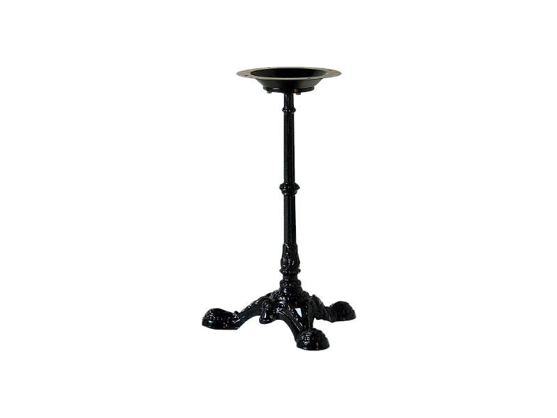 082, Base de la table, en métal décoré