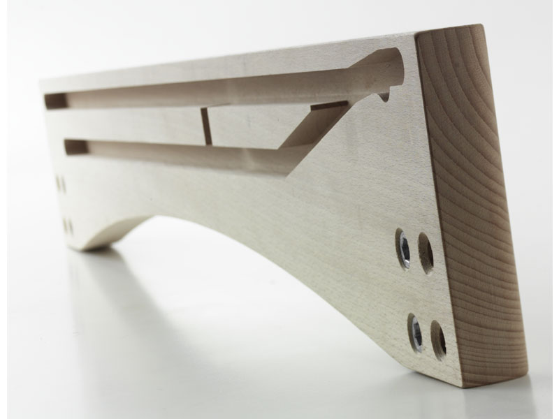 SPONDINA, Rivage pour la table en bois extensible