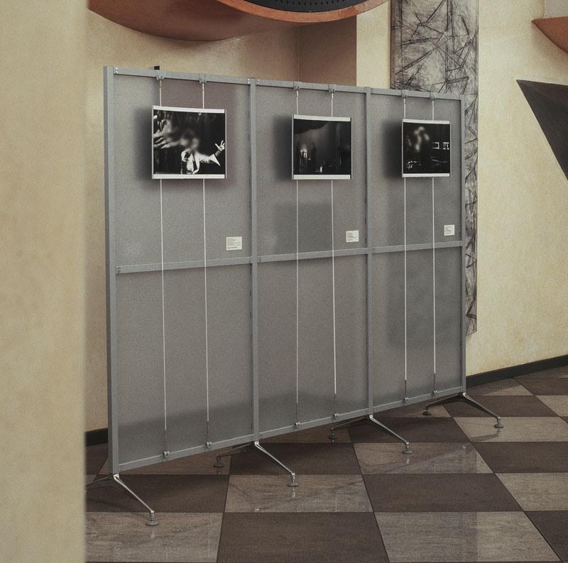Archimede 3, Compléments avec le système d'affichage, pour les bureaux et expositions