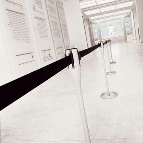 Battista column with stretchable tape, Complément bureau, colonnes avec du ruban amovible