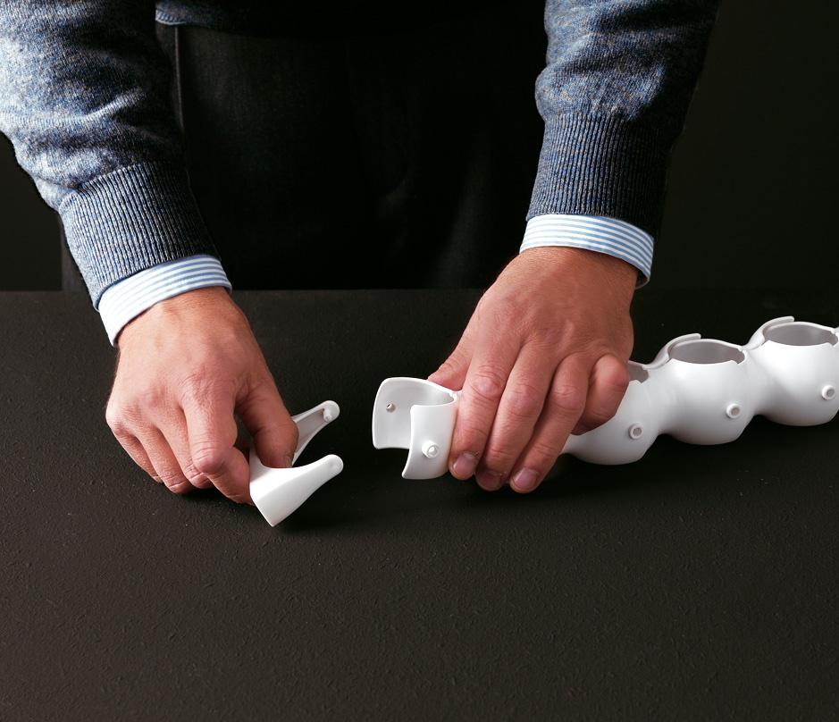 Biss, Oeillets originaux en polymère pour les bureaux