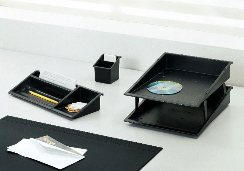Desk up, Accessoires de bureau en polymère coloré