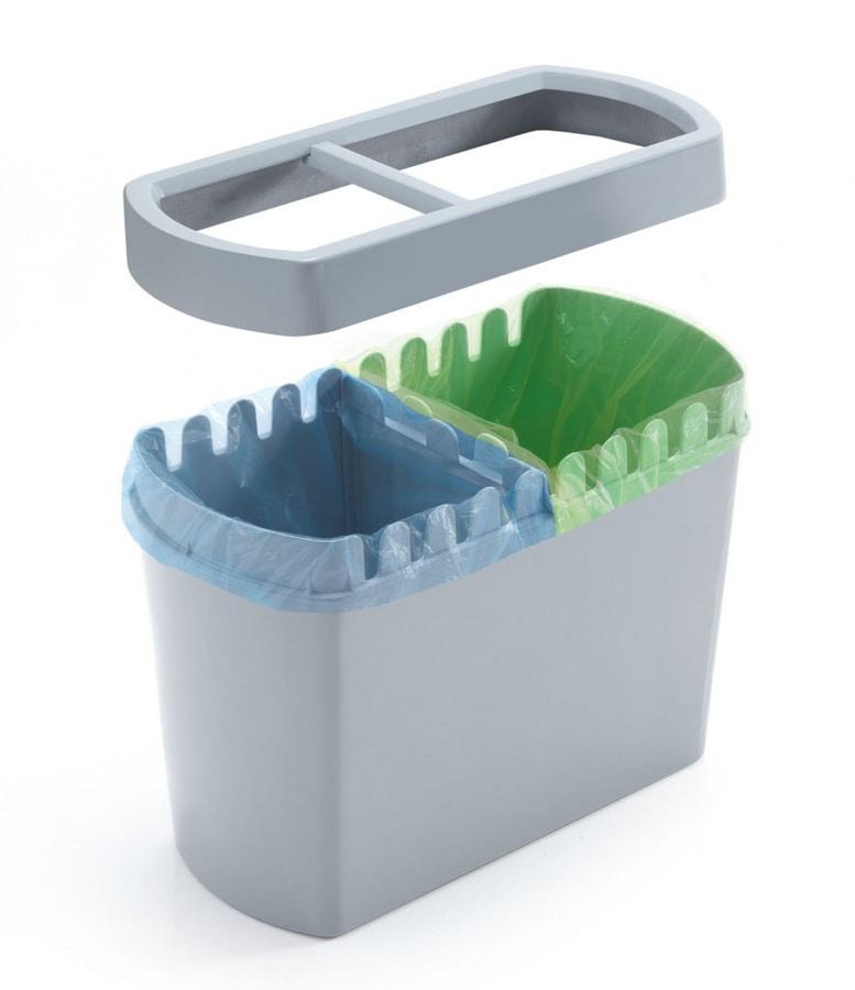 Divido, Bin dans le polymère pour le recyclage, pour les bureaux