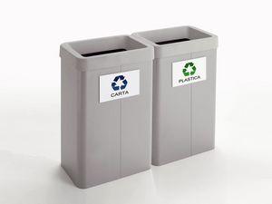 Maxi, Bacs de recyclage, pour les magasins et bureaux