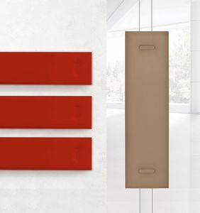 Mitesco 1, Panneaux acoustiques multicolores avec remplissage en polyester