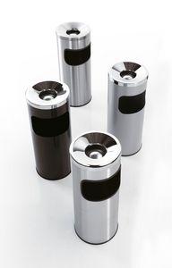 Serie 5a fire-resistant, Les corbeilles à papier avec cendrier, en acier, pour le bureau et la barre