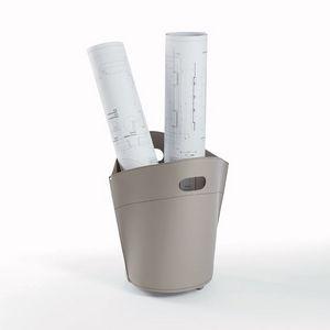 Troll, Vase de titulaire de la carte en cuir, pour les géomètres et les architectes