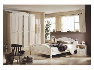 Collection Marta Bedroom, Meubles pour les chambres d'hôtel en pin massif