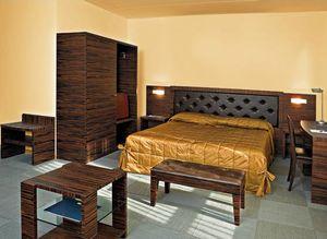 Collezione Class, Mobilier de chambre adaptée, bois d'ébène, des chambres d'hôtel