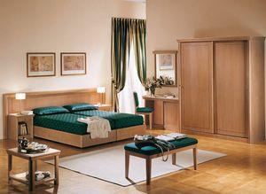 Collezione Thema, Mobilier de chambre adaptée pour l'hôtel et b&b