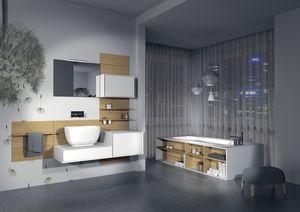 Quaderno2 DO 12, Meubles de salle de bains, personnalisable, différentes finitions