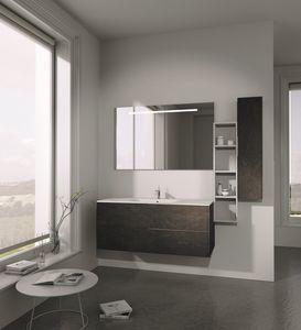 Singoli S 20, Meubles de salle de bains, avec des lignes simples
