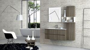 Torana TR 004, Meubles avec lavabo, avec finition TRANCHE, différentes tailles