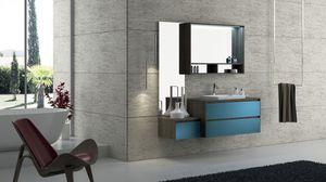 Torana TR 005, Meubles de salle de bains avec lavabo, modulaire et simple