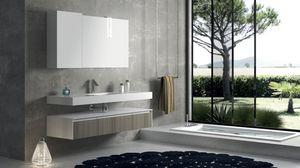 Torana TR 007, Composition de salle de bains avec une finition de tranche frontale
