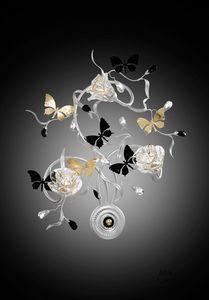 21523, Applique avec des papillons décoratifs