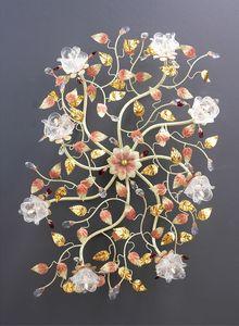 99008, Plafonnier au design floral