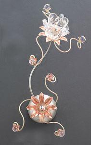 99121, Applique avec décorations florales
