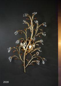 Art. 2035 Matisse, Applique en laiton doré