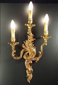 Art. 2200/A3, Applique classique avec 3 lumières