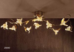 Art. 29840 Jolie, Plafonnier à motif floral