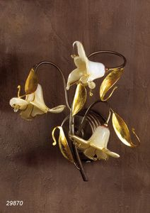 Art. 29870 Jolie, Applique avec verre de Murano