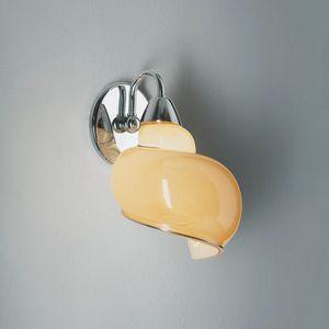 Chiocciola Rb241-025, Lampe en forme d'escargot, en verre
