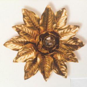 PL.2130/1, Plafonnier avec décoration feuille d'or