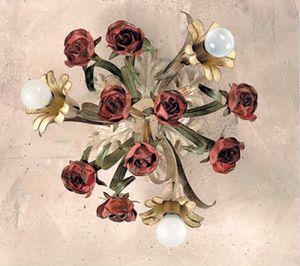PL.6070/3, Plafonnier avec des roses décoratives