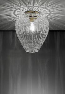 Reflex, Plafonnier en verre soufflé