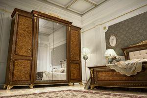 Aida armoire, Armoire classique avec une finition précieuse