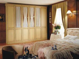 Appunti di Viaggio 4, Grande armoire, six portes battantes, pour les chambres de style classique