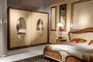 AR21 Arts deux portes garde-robe, Armoire classique adapté pour les chambres d'hôtel de luxe