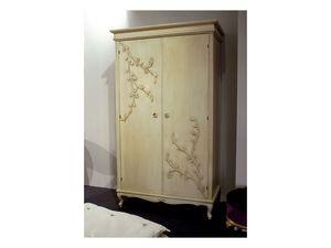 Art. 1602 Jasmine, Garde-robe classique avec 2 portes battantes, beurre de finition