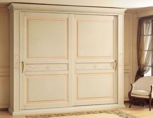 Art. 2004 Canova, Garde-robe de luxe, avec des portes coulissantes pour chambre de style classica