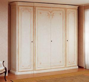 Art. 2017 Principe, Armoire classique, de luxe, filets d'ivoire Finition laqué