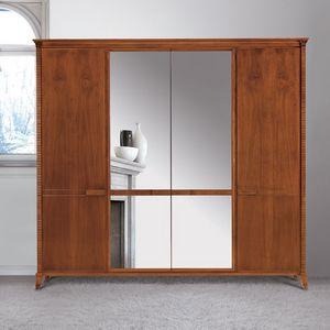 Art. 320 armoire, Armoire dans un style classique, avec miroir