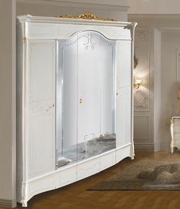 Diamante Art. 2514 - 2515, Armoire de style classique, avec miroirs