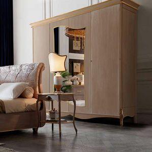 Fru-Fru armoire, Armoire de style classique avec miroir
