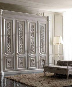 Luigi XVI Art. AR01/L/250, Armoire en bois clair, pour les chambres de style classique