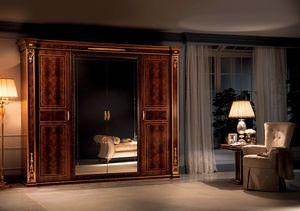 Modigliani armoire 4 portes, Armoire de style empire