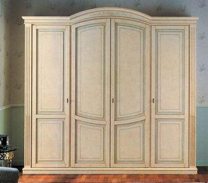 Nettuno armoire, Armoire dans le style de luxe classique, pour l'hôtel et la maison