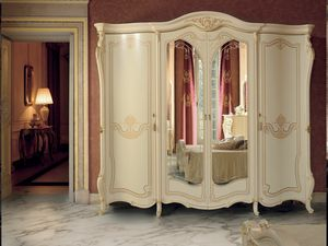 Opera armoire, Armoire de style classique avec miroir