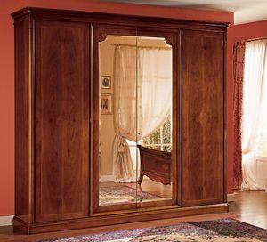 Opera armoire, Cabinet en bois décoré à la main, dans un style classique