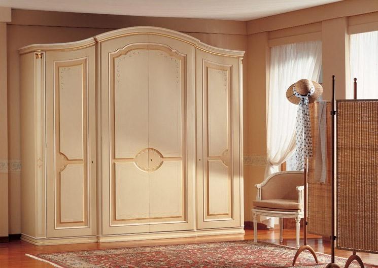Raffaello, Luxe armoire classique, décorations faites à la main, pour les chambres ameublement