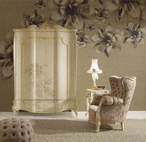 Signoria garde-robe, Armoire de style classique à décor floral
